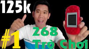 Thử Máy Game 125K Chơi Được 268 Trò Chơi. Game Thế Hệ 8X Đầu 9X - YouTube
