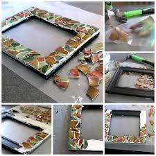diy mosaic picture frame todayscreativeblog net