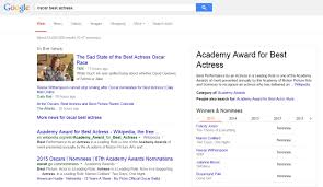 google search results 2015. Wonderful Google Google Oscar Best Actress 2015 On Search Results E