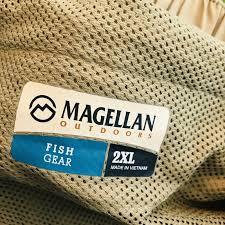 Magellan Outdoors Back Country Zipoff Nylon Fishing Pants And Shorts 2xl Brown