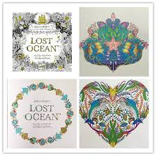 lost ocean coloring book coloring book high copy lost ocean children relax relieve stress graffiti painting book lost ocean coloring book secret