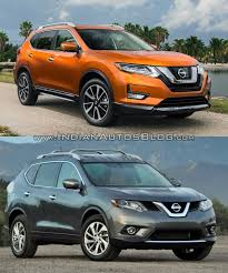 2017 Nissan Rogue vs. 2014 Nissan Rogue - In Images