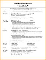 9 Post Graduate Resume Sample Address Example