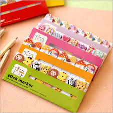 2pcs Lot New Arrival Cute Sticky Notes Post It Memo Pad School