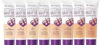Rimmel Stay Matte Foundation Color Chart Review Rimmel Stay Matte Mousse Foundation Life With Shan