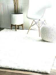 fluffy area rug large