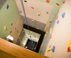 home rock climbing wall design bouldering walls cover this tiny