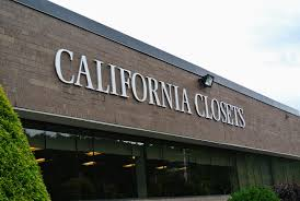 i went to the california closets showroom and factory in hawthorne new york to create a plan for the new room