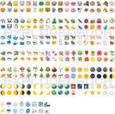 Android Emoji Conversion Chart Ios To Google Hangout Emoji Comparison Explodedsoda