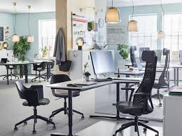 Image Corner Create Healhty Work Life Balance With Ergonomic And Comfortable Furniture Like JÄrvfjÄllet Adjustable Black Work Ikea Ikea For Business Ikea
