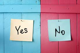 Image result for yes and no