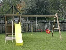swing set plans diy