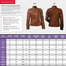 Leather Jacket Size Chart Amazon Com Wonder Woman Gal Gadot Jacket Woman Justice