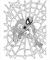 Spiderman appears for the first time in a 1962 comic book. Black Spiderman Coloring Pages Spiderman Coloring Pages Free Printable Coloring Pages Online