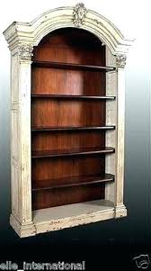 distressed wood bookcase distressed wood bookshelf bedroom off white furniture bookcase distressed black wood bookcase