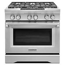 kitchenaid stove white. 36\u0027\u0027 6-burner dual fuel freestanding range, commercial-style kitchenaid stove white
