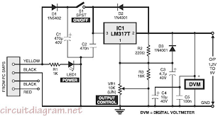 variable voltage regulator circuit diagram the wiring diagram variable voltage power supply circuit diagram nodasystech circuit diagram