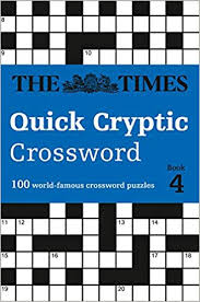Tv Guide Chart For Short Crossword The Times Quick Cryptic Crossword Book 4 100 World Famous