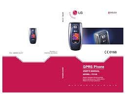 LG F2100 Owner's manual