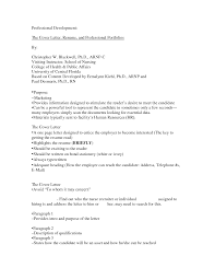 Professional Resume Cover Letter Sample Professional Resume And