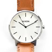 nixon nixon watch model to have the atmosphere of simple refined i put the rial leather bands which had the atmosphere that was a congenial in