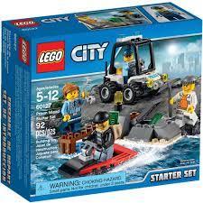 לגו סיטי - ערכת מתחילים אי הכלא LEGO CITY 60127