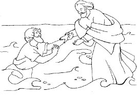 jesus walks on water coloring page. Unique Page Best Of Water Coloring Pages Images Peter Walks On Page Free  In Walking Bible  Throughout Jesus S
