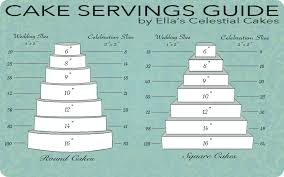Cake Size And Price Chart Wedding Cake Pricing Chart Idea In 2017 Bella Wedding