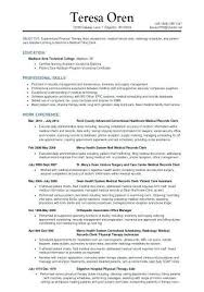 Ms Project Scheduler Sample Resume Gorgeous Project Schedule Medical Scheduler Job Description Cover Letter