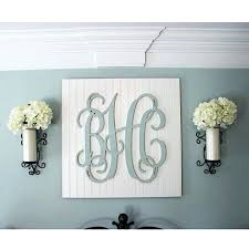 wooden monogram letters for wall wood monogram letters nursery decor wooden monogram wall art large wood