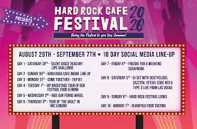 From june 28 to august 9, 2020, come join us in waterville, maine to witness unparalleled performances by hundreds of new and established musicians. Hard Rock Festival 2020