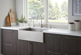 rohl perrin rowe contemporary kitchen faucet and snless steel a front kitchen sink