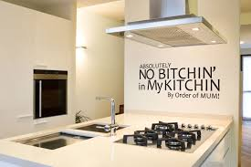 image of modern diy kitchen wall decor