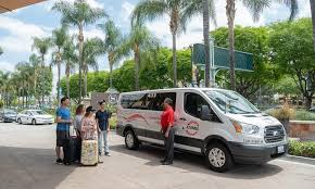 shared airport departure transfer anaheim buena park or garden gr