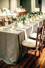 Rectangle Tables Wedding Reception Wedding Reception Tablecloth Ideas Table Clothes Burlap