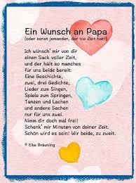 Ein Wunsch An Papa Sprüche Geburt Taufe Vatertag Sprüche Vater