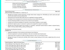 Construction Assistant Project Manager Resume Experienced Project Manager Resume Englishor Com