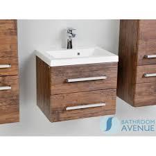 wall hung resin basin vanity unit 2