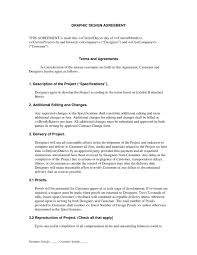 Sample Graphic Design Contract Unbelievable Graphic Design Contract Template Ideas