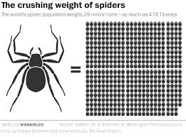 Spiders Could Theoretically Eat Every Human On Earth In One