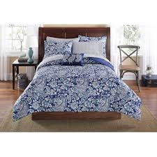 Mainstays Jaipur Paisley Bed in a Bag Set, Blue - Walmart.com &  Adamdwight.com