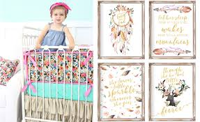 caden lane teagan collection baby bedding and complementing artwork