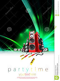 music party poster template royalty stock images image music party poster template