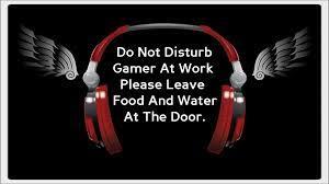 Gamer At Work HD Wallpaper