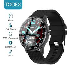 TODEX Smart Watch <b>H30</b> 42mm Full Screen Touch IP68 Waterproof ...