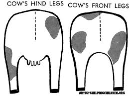 Cow Template Cow Crafts For Kids Make Cows With Arts And Crafts Projects