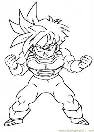 dragon ball z coloring pages free genkilife dragon ball z coloring pages yjr9v