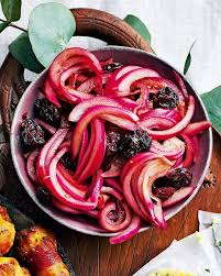 <b>Red</b> onion, sour cherry and <b>pomegranate</b> relish | delicious. magazine