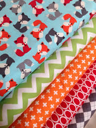 331 best Fabric images on Pinterest | Colors, Paper and DIY & Urban Zoologie Fox quilt or craft fabric bundle by Ann Kelle for Robert  Kaufman. yard of each fabric shown, 5 total. Adamdwight.com