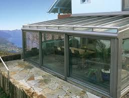 Tende Da Balcone In Plastica : Tende verande con cristal trasparente